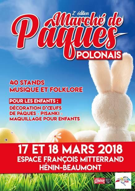 marche paques polonais henin beaumont 2018