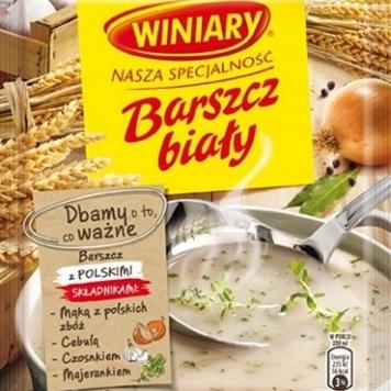 bortsch blanc polonais